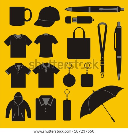 Merchandise - stock vector