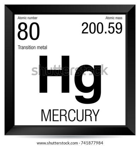 Mercury symbol on chemical flask element stock vector 742582819 mercury symbol element number 80 of the periodic table of the elements chemistry urtaz Gallery