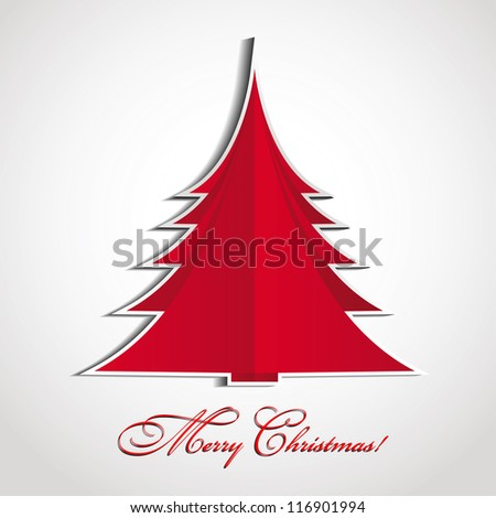 Merry Christmas 01 - stock vector