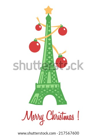 Merry Christmas ! - stock vector