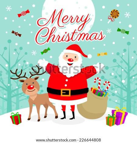 Merry Christmas! - stock vector