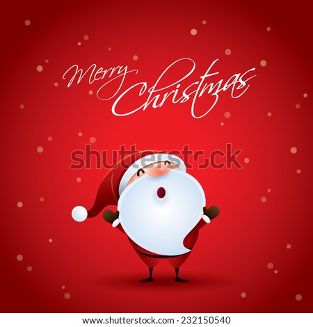 Merry Christmas. - stock vector