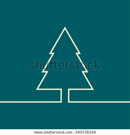 Merry Christmas 2016 - stock vector