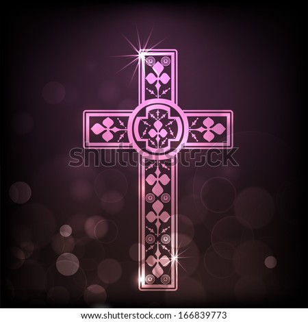 Merry christmas happy new year 2014 stock photo photo vector merry christmas and happy new year 2014 celebration concept with christian cross voltagebd Image collections