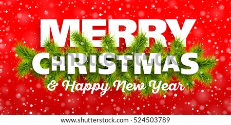 merry christmas happy new year greeting stock vector 524503789 merry christmas and happy new year greeting card