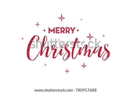 christmas card word