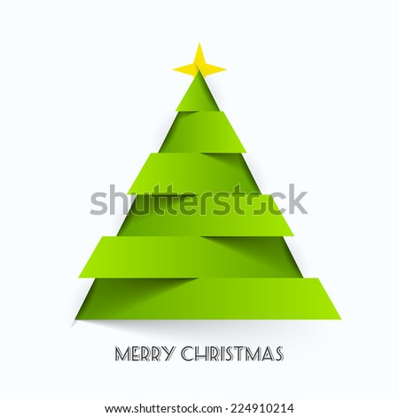 Merry Christmas card. Vector. - stock vector