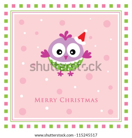 merry christmas chicken doodle tag