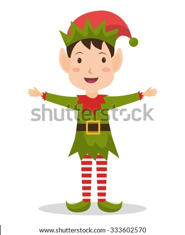 Merry christmas colorful card design, vector illustration graphic. - stock vector