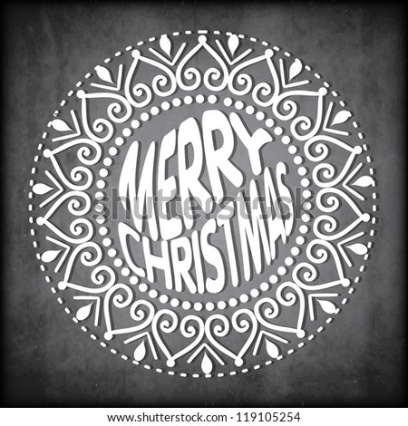 Merry Christmas. EPS 10. - stock vector