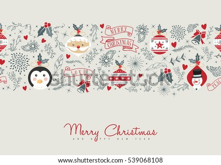 Merry Christmas Illustration.Vector Illustration In Rank M Rank Merry Christmas