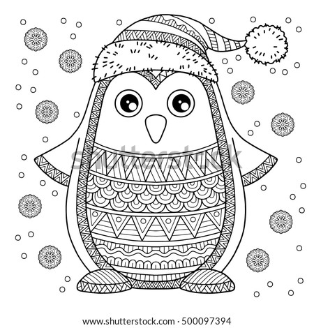 the detailed coloring pages for adults image for design - Winter Coloring Pages For Adults