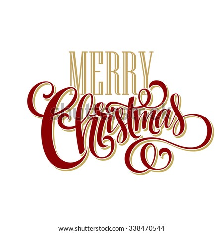 Merry Christmas Type Stock Images Royalty Free Images