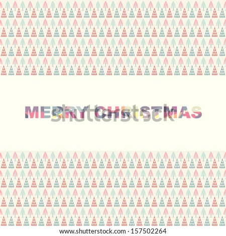 Merry Christmas Vector Design for business