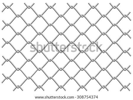 Mesh Fencing Vector Mesh Fence