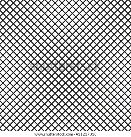 Mesh lines background. Seamless lined grid pattern. Vector illustration. - stock vector