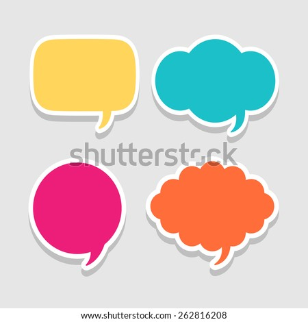 message icon great for any use. Vector EPS10. - stock vector