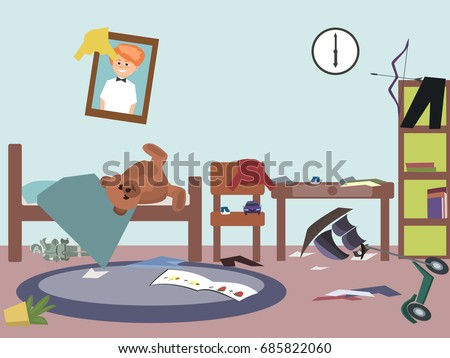Messy Room Stock Images Royalty Free Images Vectors Shutterstock