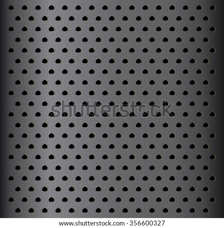 Metal background.Geometric shapes. Metal texture