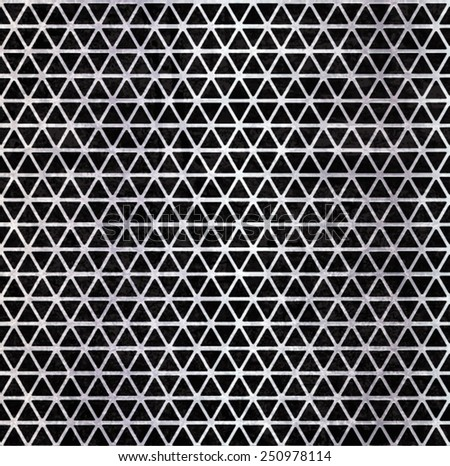Metal Background Texture . Metal Plate . Abstract Metal Template . Silver Metal Grid . Metal Speaker . Metal Texture . Vector Illustration.  - stock vector
