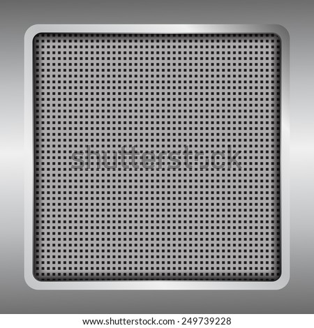 Metal background texture - vector illustration