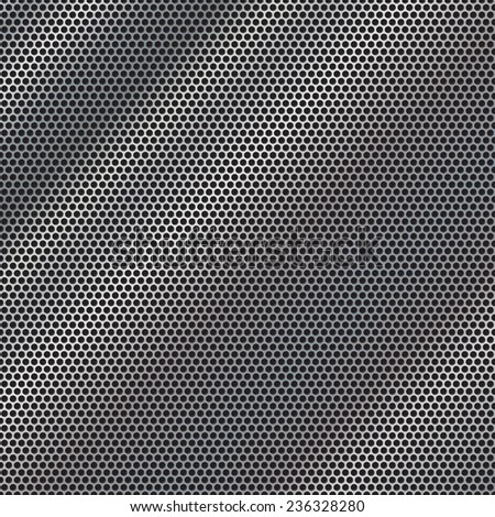 Metal background vector - stock vector