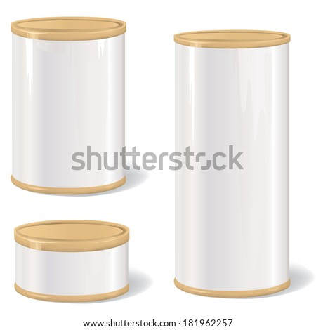 cylinder packaging template - plastic cylinder container stock images royalty free