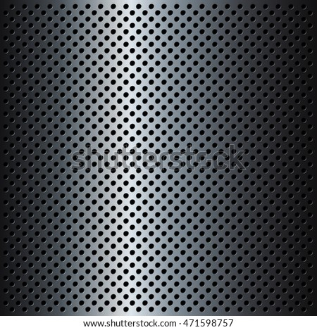 Metal Grid background, vector illustration.