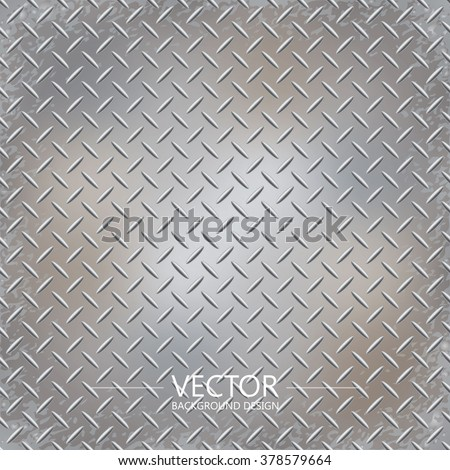 Metal plate texture, Iron sheet, Vector background. - stock vector