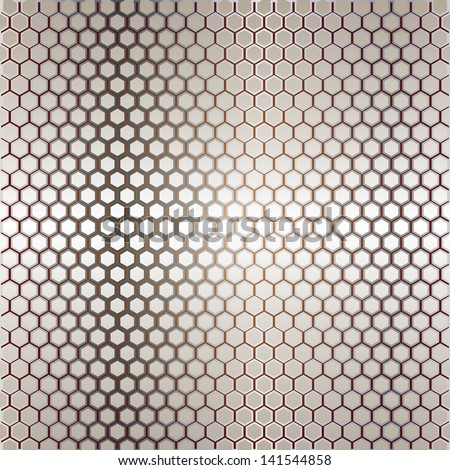 Metal template with texture.vector - stock vector