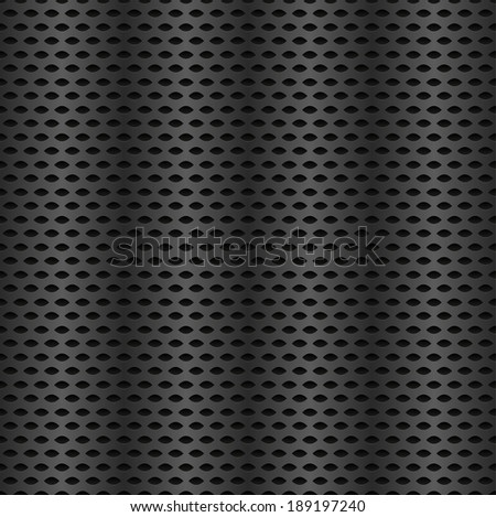 Metal texture - repeatable , finer pattern - stock vector