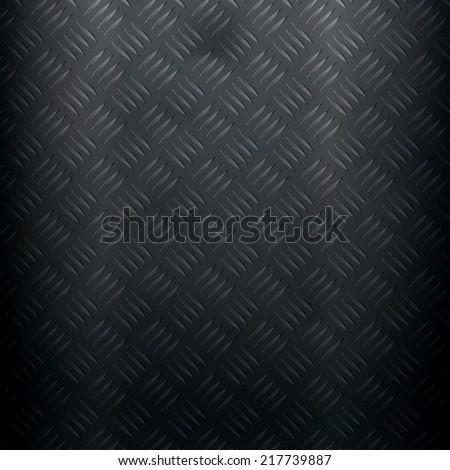 Metallic background with diamond plate