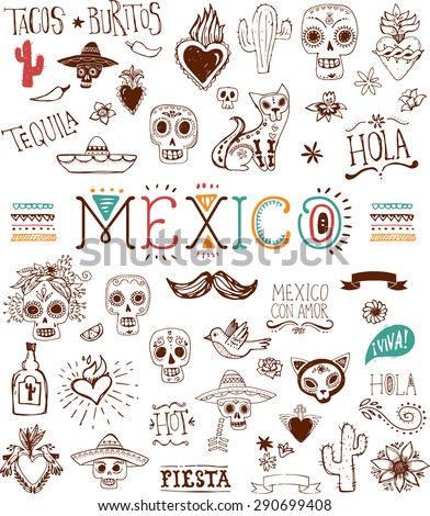 Mexican  - stock vector