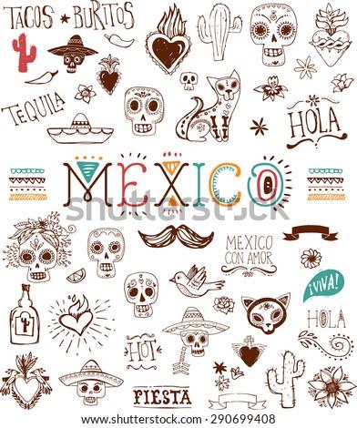 Mexican  - stock vector