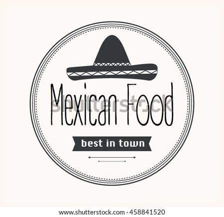Mexican food logo