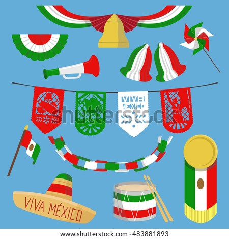 mexican decor and decorations ideas white accessories colorful cloth table party engagement dishes theme fiesta