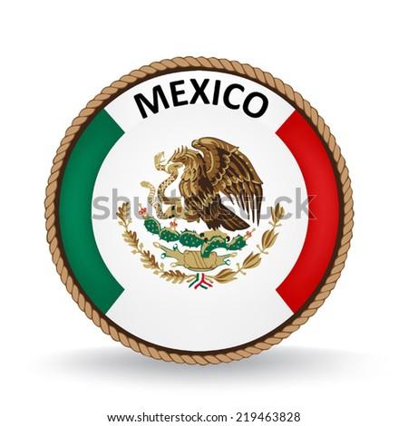 Mexico Seal - stock vector