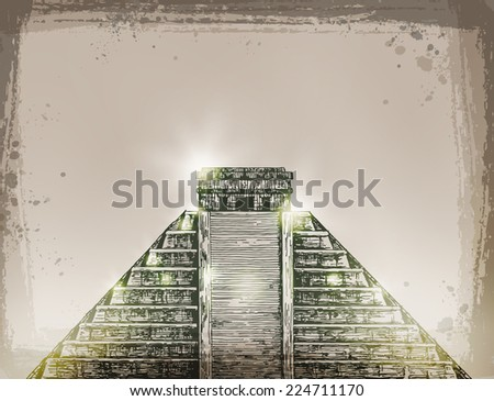 Mexico. Vector format - stock vector