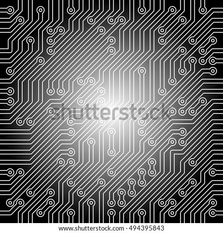 micro-plate background black and white