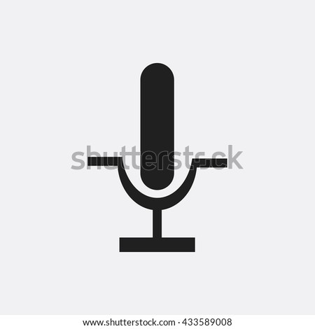 Microphone Icon, Microphone Icon Eps10, Microphone Icon Vector, Microphone Icon Eps, Microphone Icon Jpg, Microphone Icon, Microphone Icon Flat, Microphone Icon App, Microphone Icon Web - stock vector