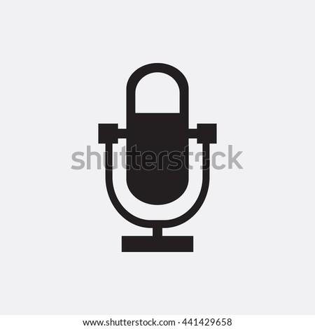 Microphone Icon, Microphone Icon Eps10, Microphone Icon Vector, Microphone Icon Eps, Microphone Icon Jpg, Microphone Icon, Microphone Icon Flat, Microphone Icon App, Microphone Icon Web, Microphone - stock vector