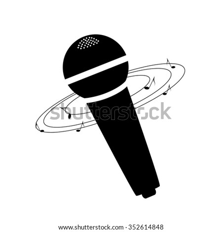 microphone, music
