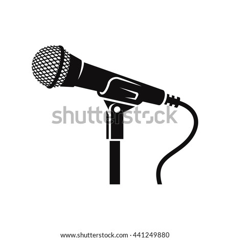 Microphone Stand Stock Images, Royalty-Free Images ...