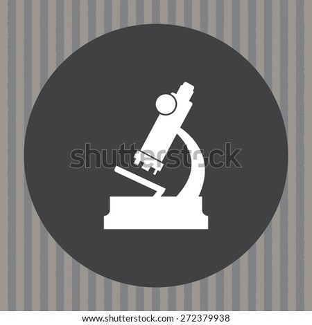 microscope vector icon