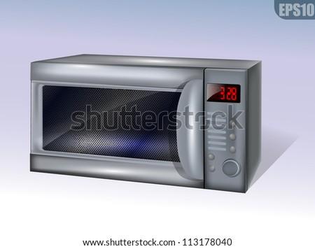 Microwave eps10 - stock vector