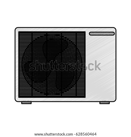 microwave oven isolated icon