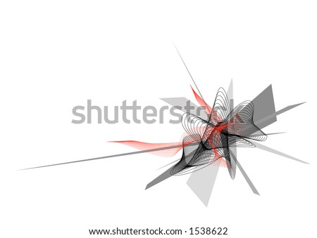 Middle - stock vector