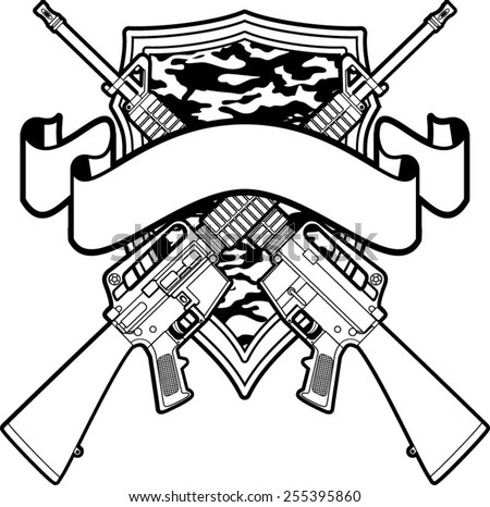 army logo coloring pages - pin rifle coloring pages auburn ps on pinterest