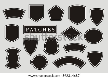 Biker patch stock images royalty free images vectors for Military patch template