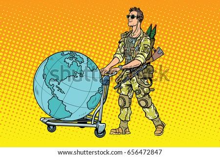 Unicorn soldier character shooting hearts his stock vector - Rifle Art Stock Sn 237 Mky Sn 237 Mky Pro Leny Zdarma A Vektory